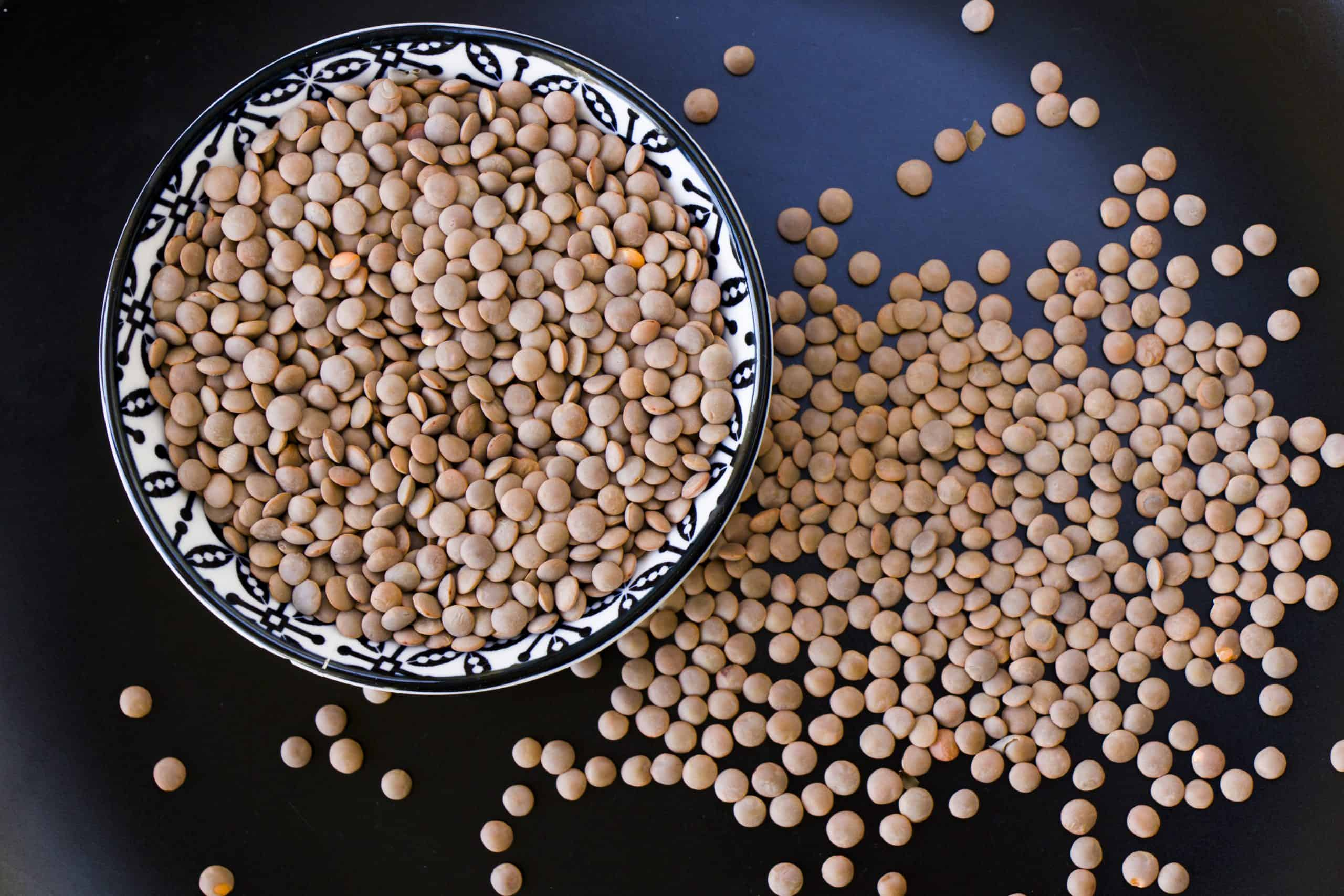 lentils vegan pantry staple