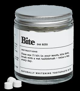 eco-friendly toothpaste bits