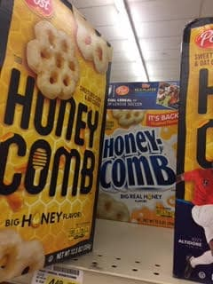HoneyComb is no longer a palm oil free cereal