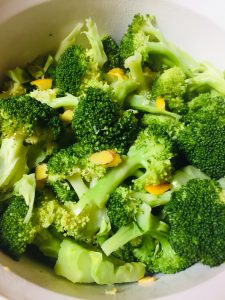 broccoli with orange ginger butter recipe