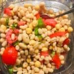 palm oil free easy white bean salad recipe
