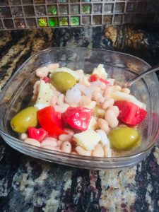 easy white bean salad recipe