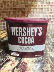 Hershey's Cocoa 100% Cacao to make chocolate frosting