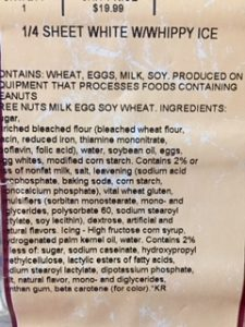 grocery store desserts contain palm oil