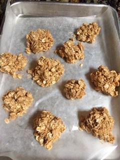 Palm oil free breakfast Oat Peanut Butter Honey Balls