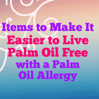 items to make it easier to live palm oil free