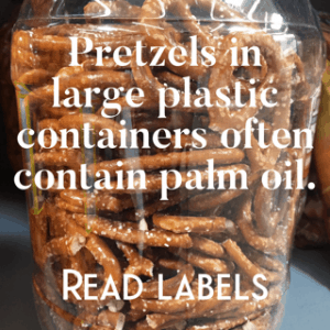 how to find palm oil free pretzels