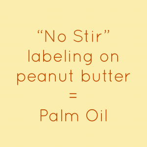 no stir equals palm oil in peanut butter