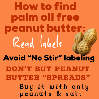 palm oil free nut butters