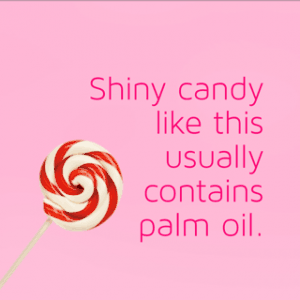 palm oil free holiday candies