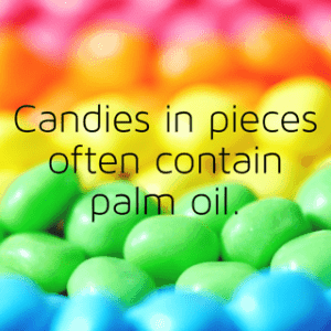 find palm oil free holiday candy