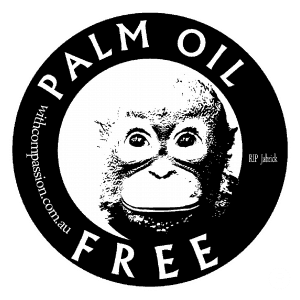 palm oil free candy labeling