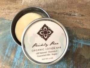 organic lotion bar without palm oil derivatives