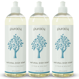 palm oil free dish soap