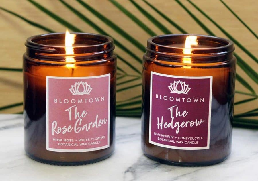 palm oil free candles in UK