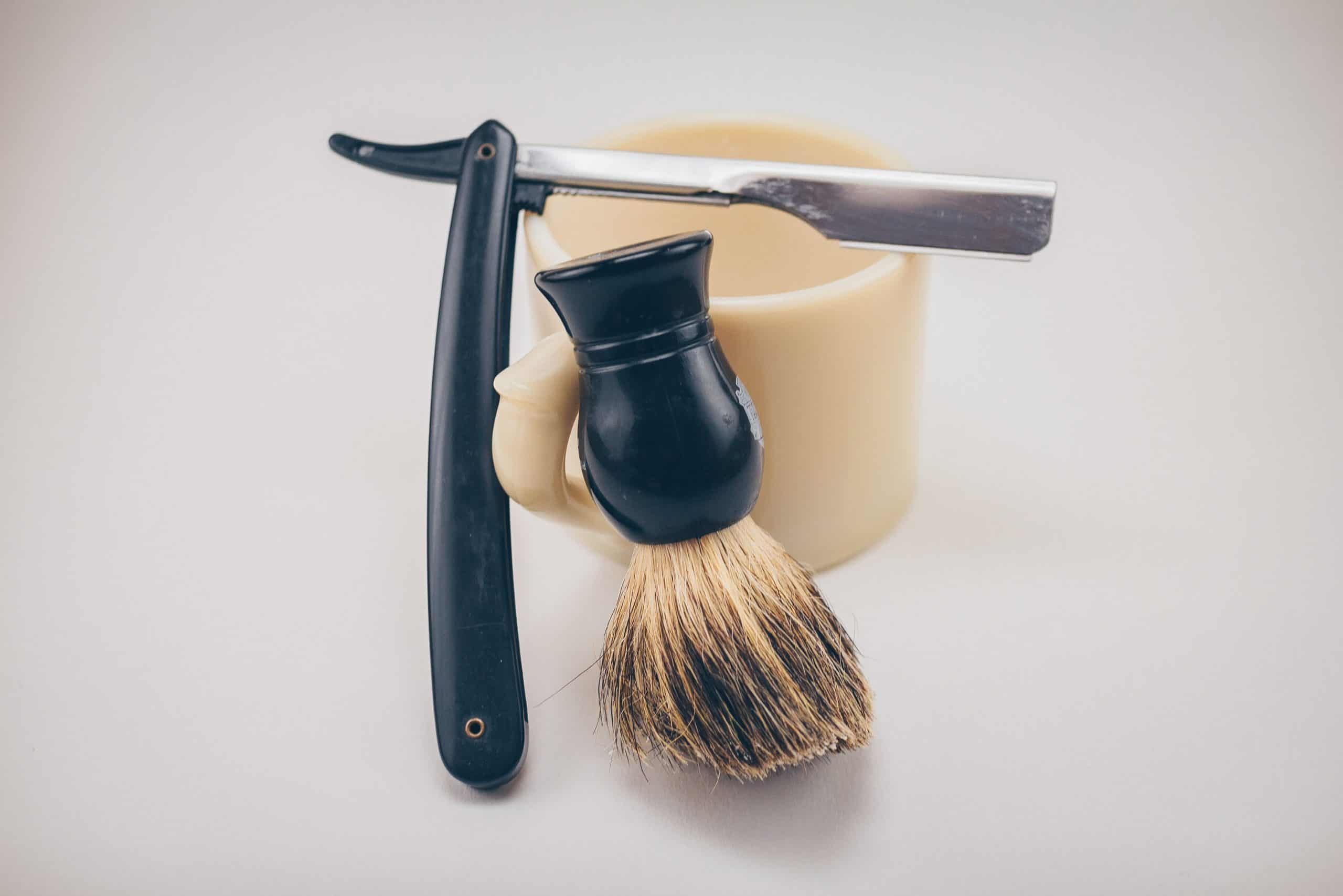 palm oil free shaving cream