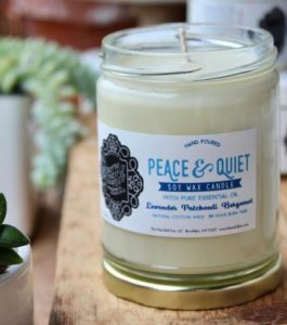 Palm oil free candles USA