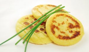 potato cakes from mashed potatoes