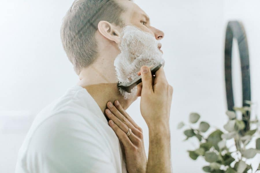 shaving without palm oil